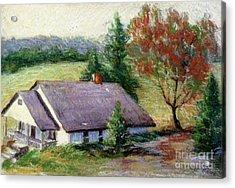 Ellijay Home Acrylic Print by Gretchen Allen