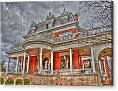 Ellwood Mansion Acrylic Print by Dan Crosby