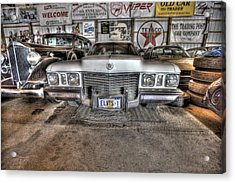 Elvis' Cadillac Acrylic Print