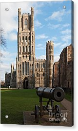 Acrylic Print featuring the photograph Ely by Andrew  Michael