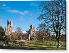 Acrylic Print featuring the photograph Ely Scenic by Andrew  Michael