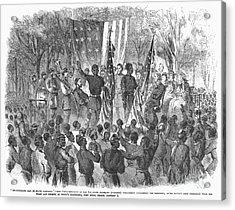 Emancipation, 1863 Acrylic Print by Granger