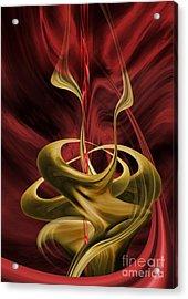 Embrace Acrylic Print by Johnny Hildingsson