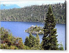 Acrylic Print featuring the photograph Emerald Bay State Park by Anne Raczkowski