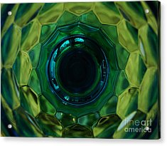 Emerald Eye Acrylic Print