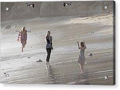Emerged From The Sea Acrylic Print by Viktor Savchenko