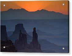 Emerging Dawn Acrylic Print by Andrew Soundarajan