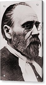 Emile Zola 1840-1902, French Novelist Acrylic Print by Everett