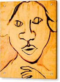 Emily Acrylic Print by Bill Davis