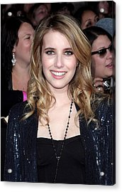 Emma Roberts At Arrivals For The Acrylic Print by Everett