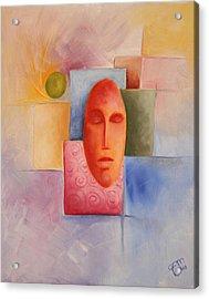 Emotion - 2008 Acrylic Print by Simona  Mereu
