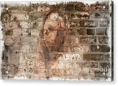 Acrylic Print featuring the photograph Emotions- Self Portrait by Janie Johnson