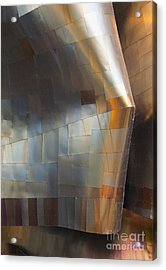 Emp Abstract Fold Acrylic Print by Chris Dutton