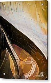 Emp Curves Acrylic Print by Chris Dutton
