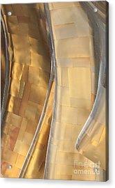 Emp Fools Gold Acrylic Print by Chris Dutton