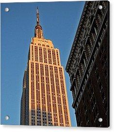 #empire #newyorker #newyork #ny Acrylic Print