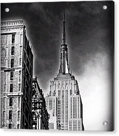 #empire #newyorker #ny #architecture Acrylic Print