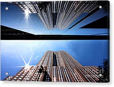 Empire State Building Reflections Acrylic Print
