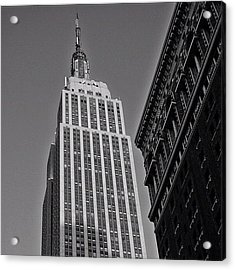 #empirestate #empire #usa #newyorker Acrylic Print