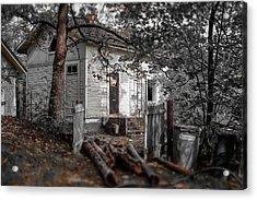Empty And Abandoned Acrylic Print