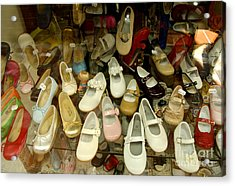 Empty Footsteps Acrylic Print by Perry Van Munster