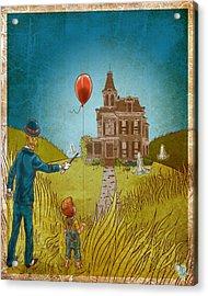 Empty Home Acrylic Print by Baird Hoffmire