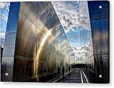 Empty Sky Memorial Nj Acrylic Print