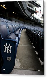 Empty Stadium 1 Acrylic Print by Michael Albright