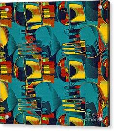 En Formes 02 Acrylic Print by Aimelle