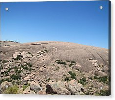 Enchanted Rock Acrylic Print by Barry Moore