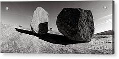 Enchanted Rock Acrylic Print by David  Rusch