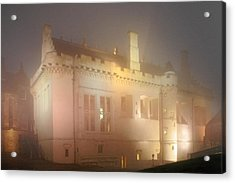 Enchanted Stirling Castle Scotland  Acrylic Print by Christine Till