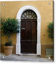 Acrylic Print featuring the photograph Enchanting Door by Lainie Wrightson