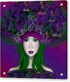 Enchantress Acrylic Print