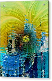 End Of Days Acrylic Print by Amanda Moore