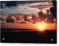 End Of Perfect Day Acrylic Print by Sgt Donald Lee Handley