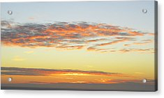 End Of The Day Acrylic Print by Mariola Szeliga