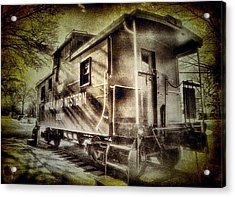 End Of The Line II Acrylic Print by Steven Ainsworth