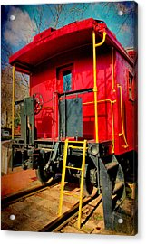 End Of The Line Acrylic Print by Steven Ainsworth
