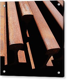 End Of The Line Acrylic Print by Steven Milner
