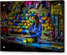 End Of The Night Acrylic Print by Bob Orsillo