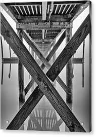 Endless Pier Acrylic Print by Brian Young
