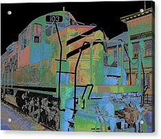 Engine 103 Acrylic Print by Louis Nugent