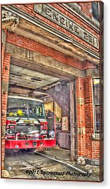 Acrylic Print featuring the photograph Engine 28 by Jim Lepard