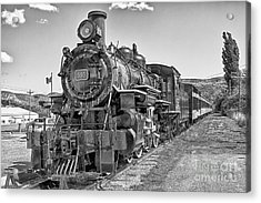 Acrylic Print featuring the photograph Engine 593 by Eunice Gibb