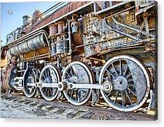 Engine Acrylic Print