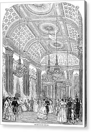 England - Royal Ball 1848 Acrylic Print by Granger