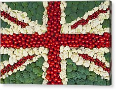 England Acrylic Print by Axiom Photographic
