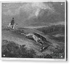 England: Coursing, 1833 Acrylic Print by Granger