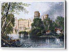 England: Warwick Castle Acrylic Print by Granger